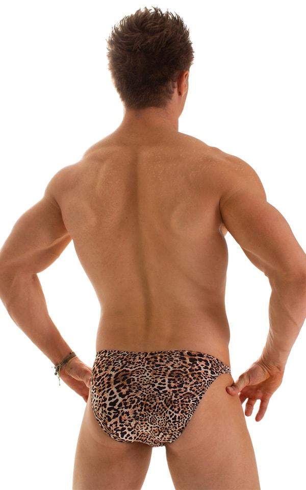 Fitted Bikini Bathing Suit in Super ThinSKINZ Cheeta 2