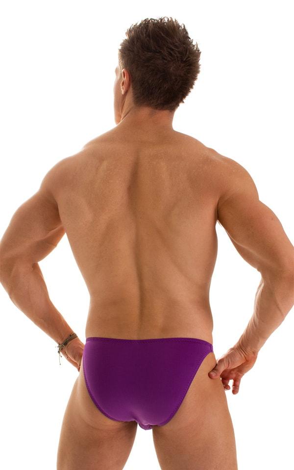 Fitted Bikini Bathing Suit in ThinSKINZ Grape 2