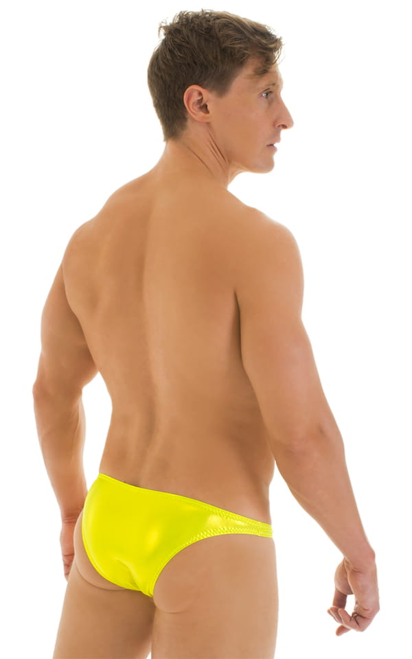 Enhancing Pouch Swim Brief in Ice Karma Giallo 3
