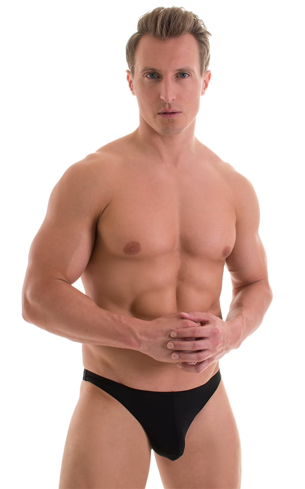 Enhancing Pouch Swim Brief in ThinSKINZ Black 1