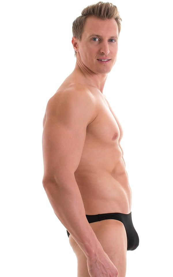 Enhancing Pouch Swim Brief in ThinSKINZ Black 5