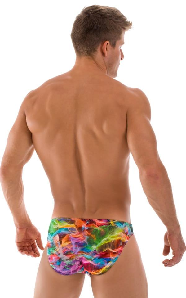 Bikini-Brief Swimsuit in Vapors 3
