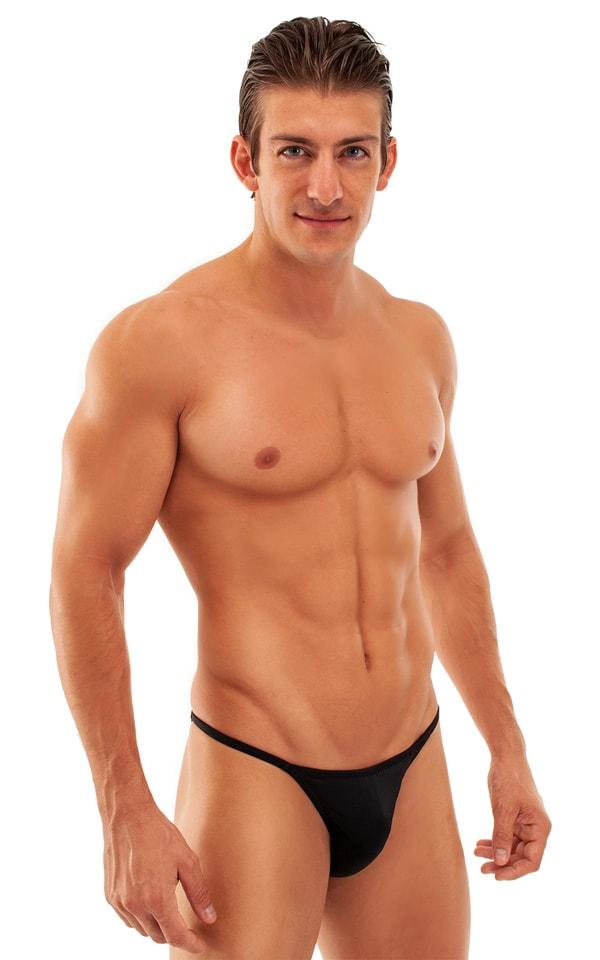 Super Low Brazilian Bikini in Black 1