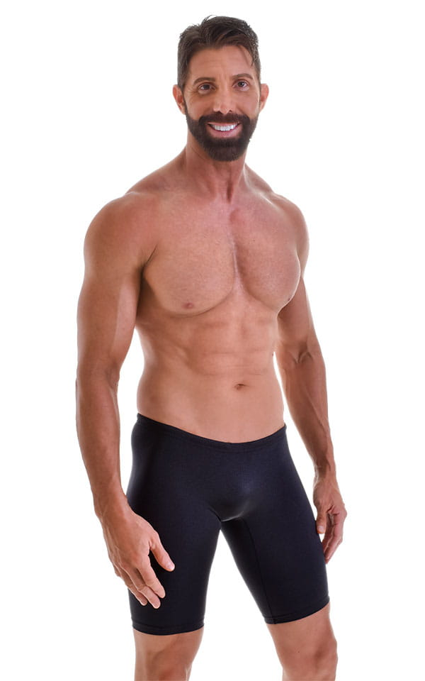 Swim-Dive Competition Watersports Shorts in Black 1