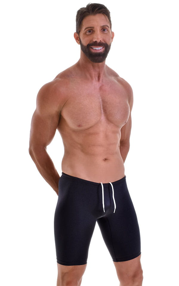 Swim-Dive Competition Watersports Shorts in Black 4