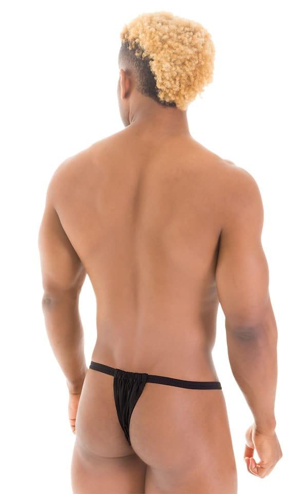 4-Way Adjustable Bikini-Tanga-Micro in Black 6