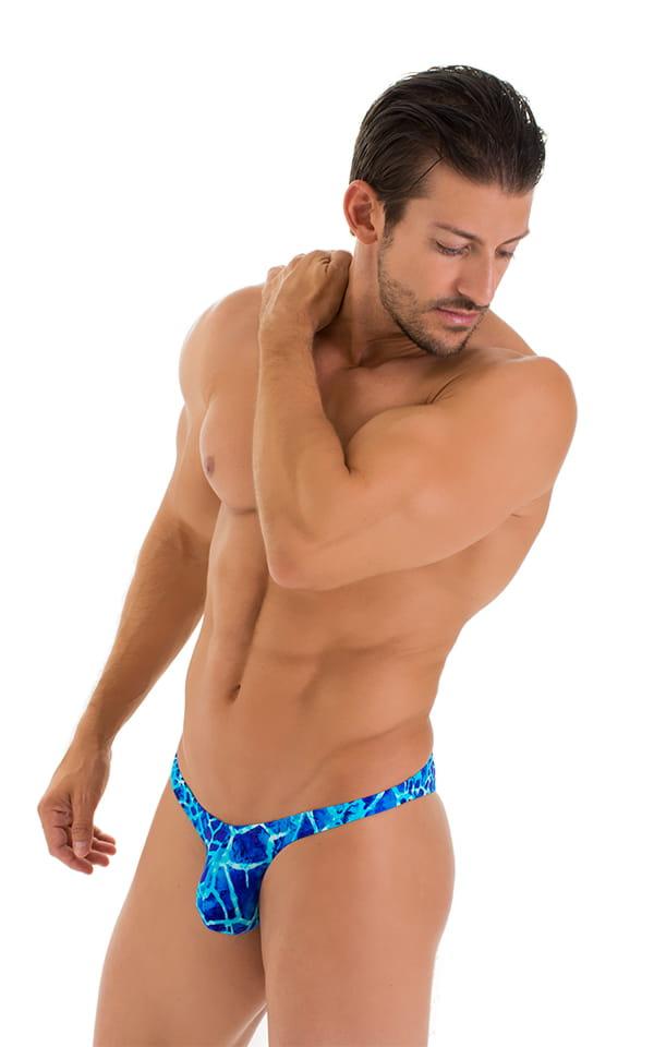 Tanga Cheekini Bikini in New World Blue 5