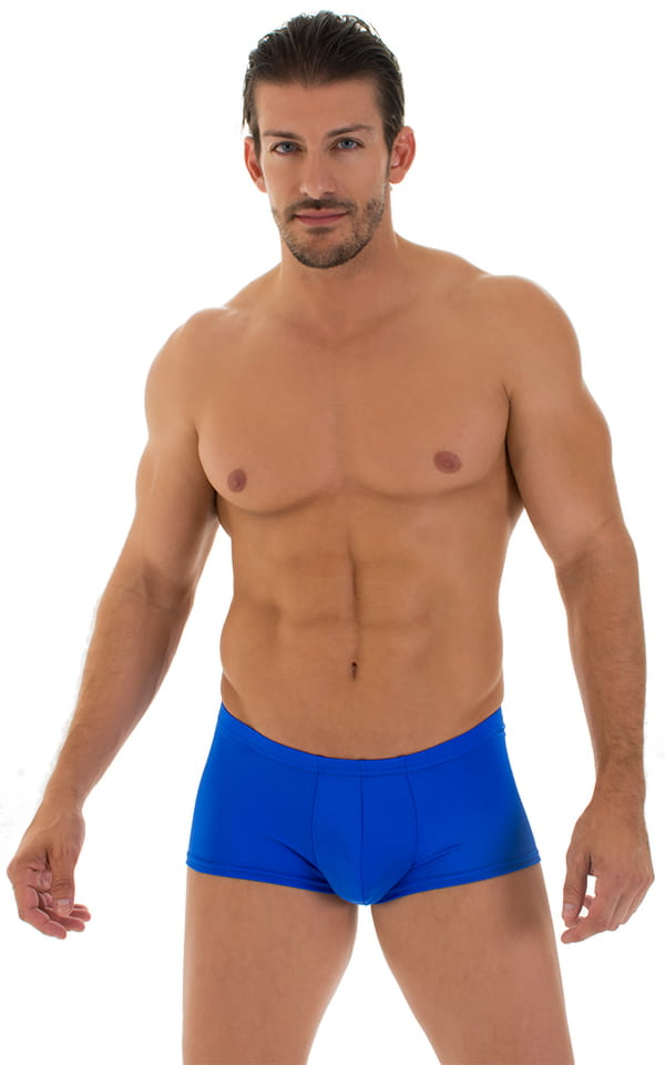 Fitted Pouch - Boxer - Swim Trunks in Royal Blue 1