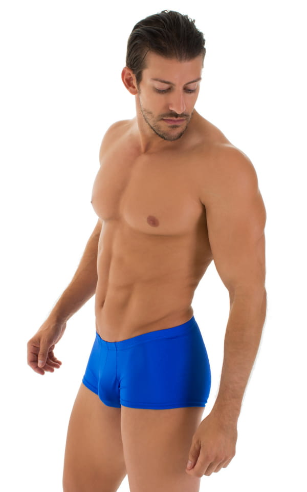 Fitted Pouch - Boxer - Swim Trunks in Royal Blue 5