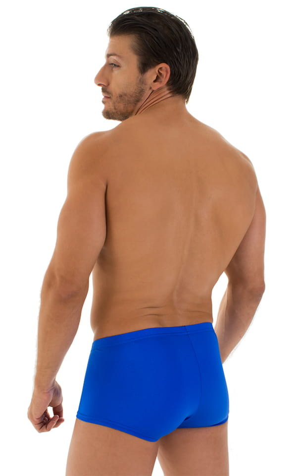 Fitted Pouch - Boxer - Swim Trunks in Royal Blue 3