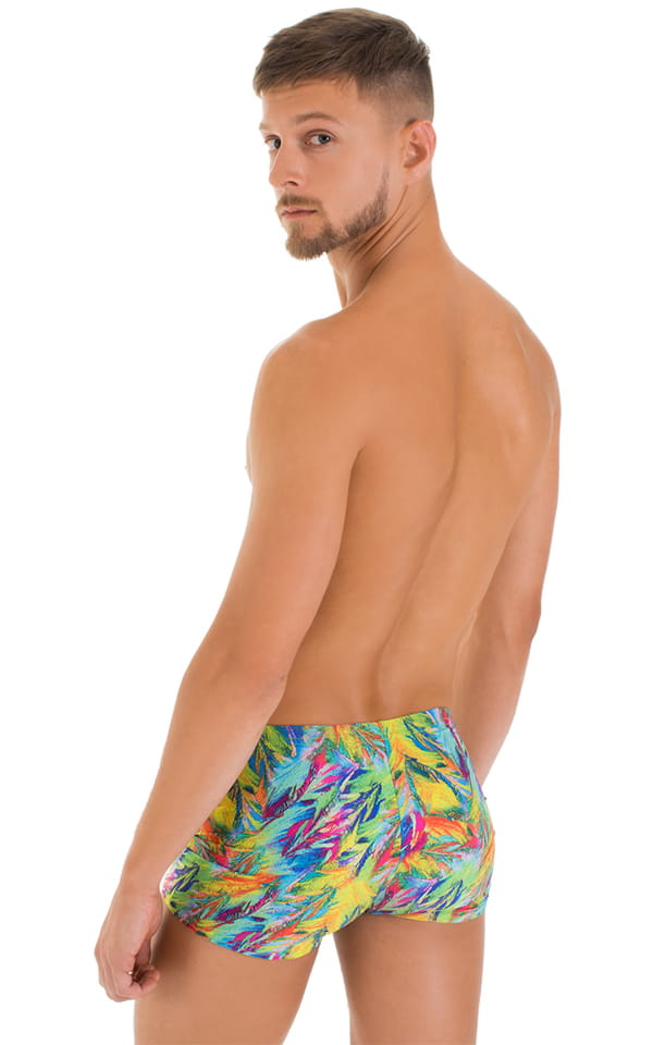 Square Cut Seamless Shorts in Super ThinSKINZ Quill 3