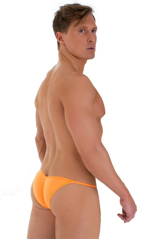 Micro Pouch - Puckered RIO Back in Orange 1