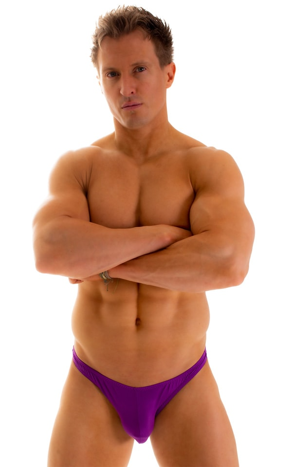 Enhancing Pouch Swim Brief in ThinSKINZ Grape 1
