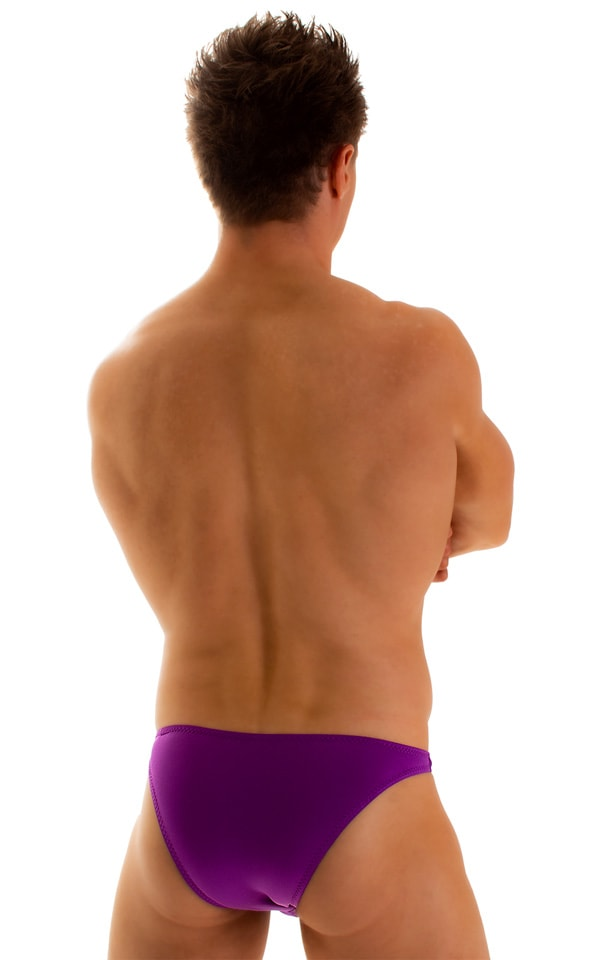Enhancing Pouch Swim Brief in ThinSKINZ Grape 2
