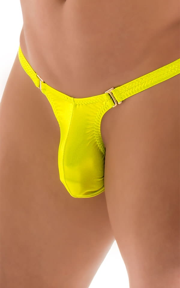 Quick Release Thong - Bravura Pouch in Ice Karma Giallo 5