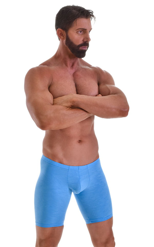 Fitted-Pouch-Lycra-Shorts Front