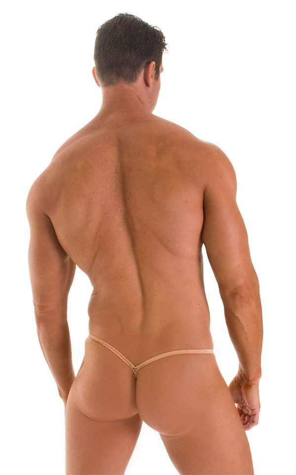 Stuffit Pouch G String Swimsuit in Super ThinSKINZ Nude 2