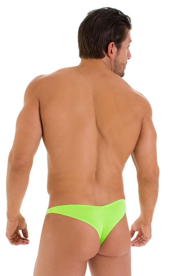 Tanga Cheekini Bikini in ThinSKINZ Lime 3