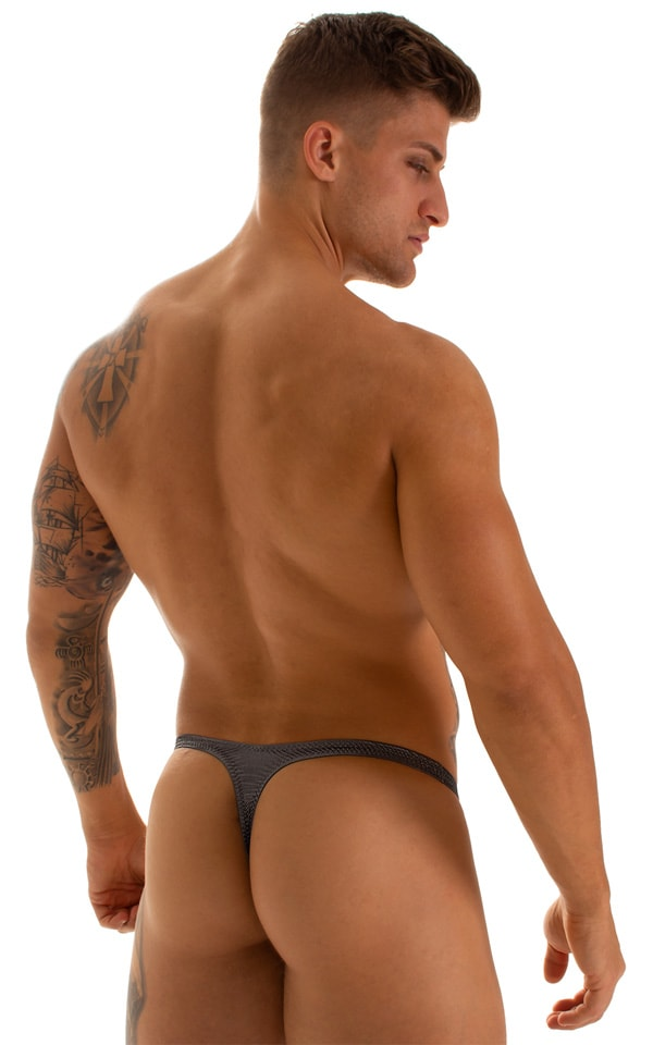 Quick Release Thong - Bravura Pouch in Black Ice 2