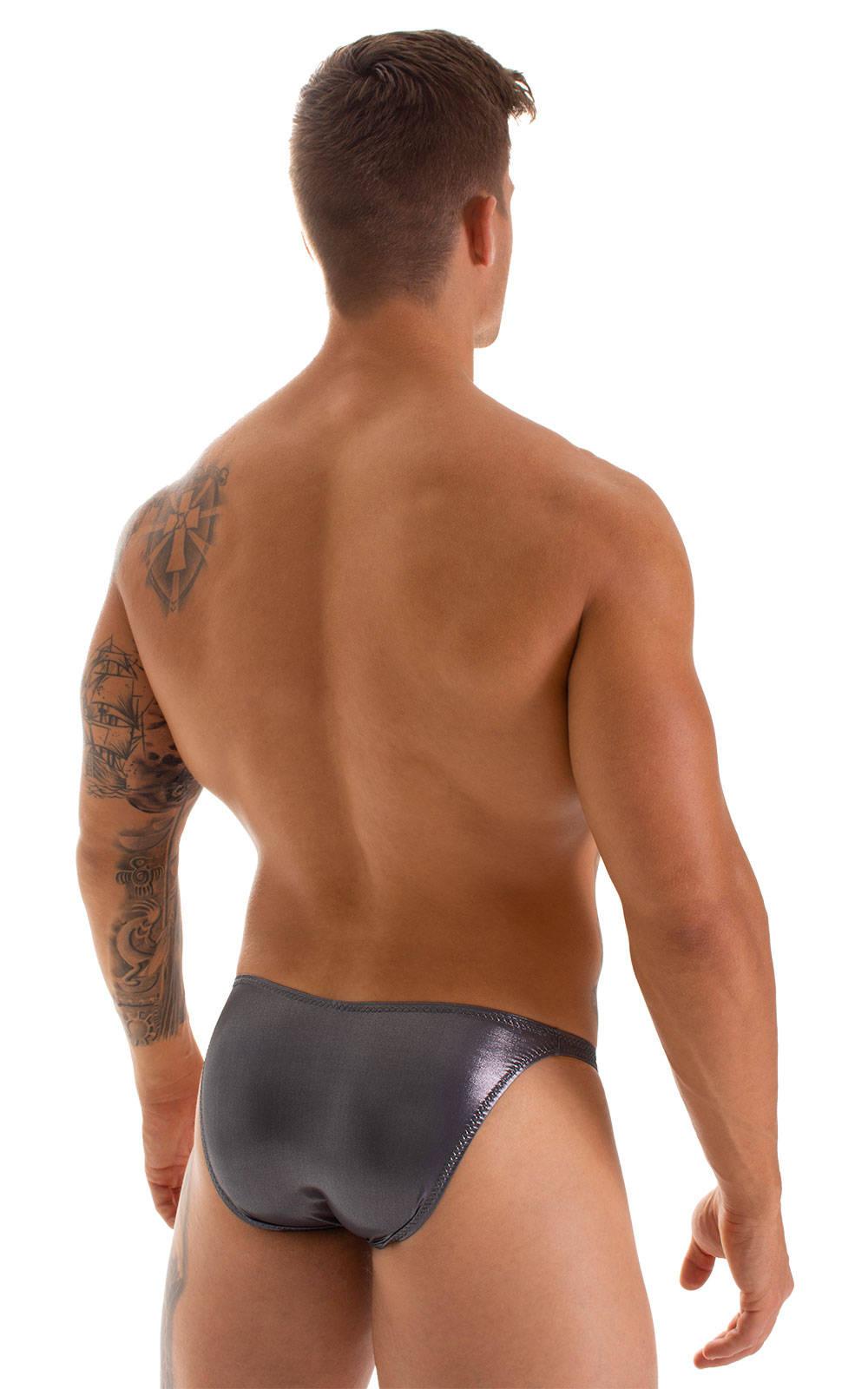 Stuffit Pouch Bikini Swimsuit in Black Ice 2