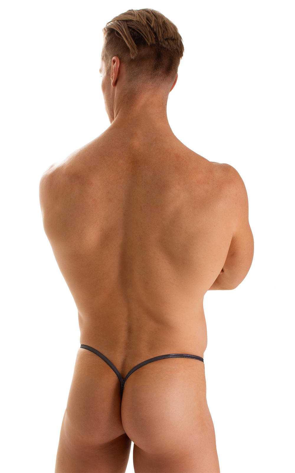 Y Back G String Thong in Black Ice 2