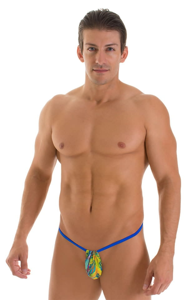 mens micro adjustable g string front