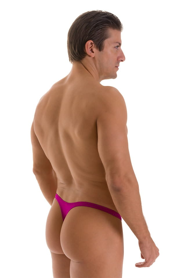 Stuffit Pouch Thong in Magenta 2