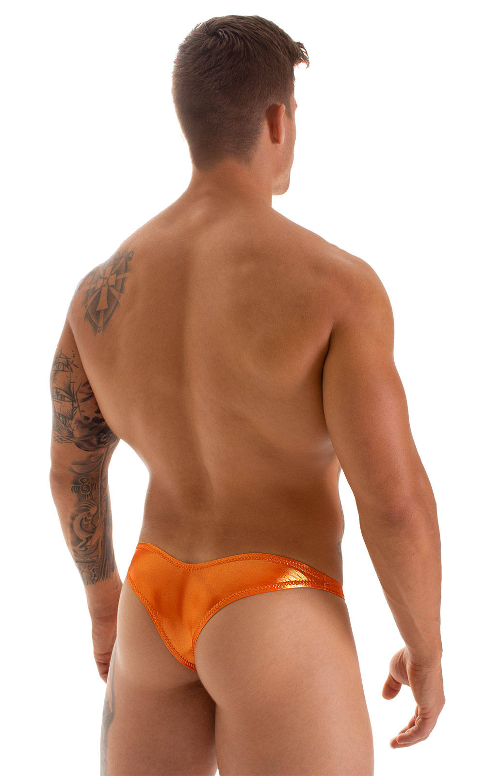 Tanga Cheekini Bikini in Ice Karma Atomic Tangerine 2