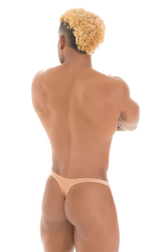 T Back Thong Swimsuit in Super ThinSKINZ Nude 3