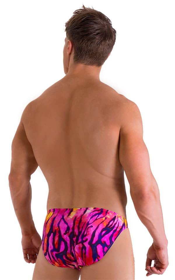 Bikini Brief Swimsuit in Beach Tiger Pink 3