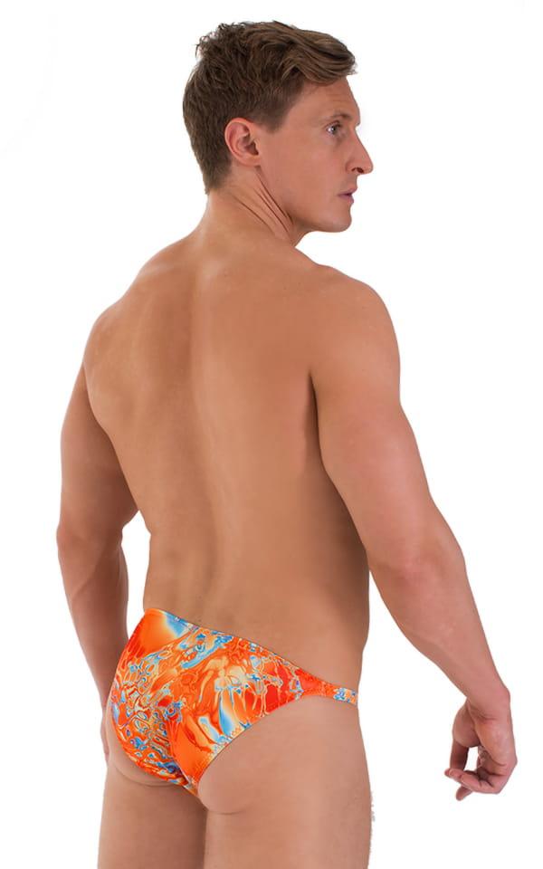 Smooth Front Bikini in Vapor Wave 3