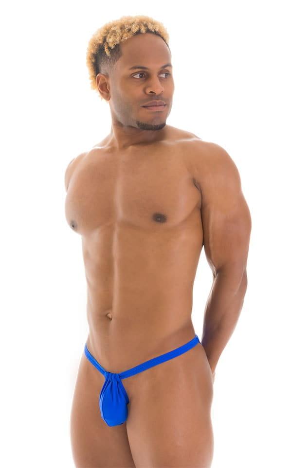 4-Way Adjustable Bikini-Tanga-Micro in Royal Blue 5