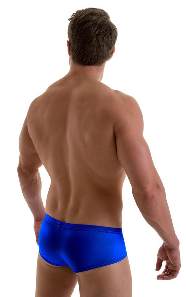 Pouch Enhanced Micro Swim Trunks in Royal Blue 2