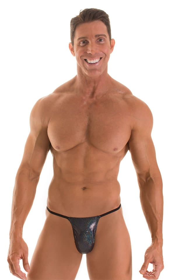Roman G String Swim Thong in Holographic Nightsparkle with Black Strings 1