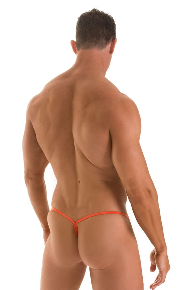Roman G String Swim Thong in ThinSKINZ Apricot 2