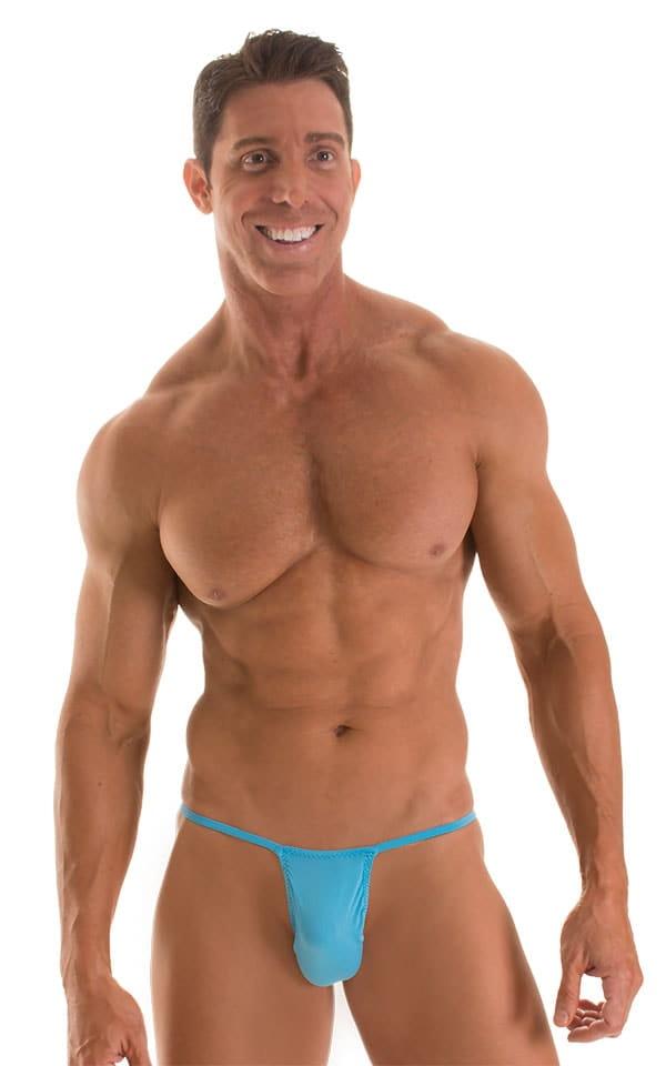 Roman G String Swim Thong in ThinSKINZ Sapphire 1
