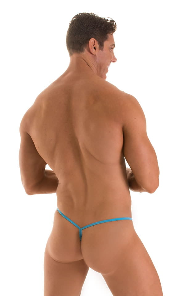 Roman G String Swim Thong in ThinSKINZ Sapphire 2