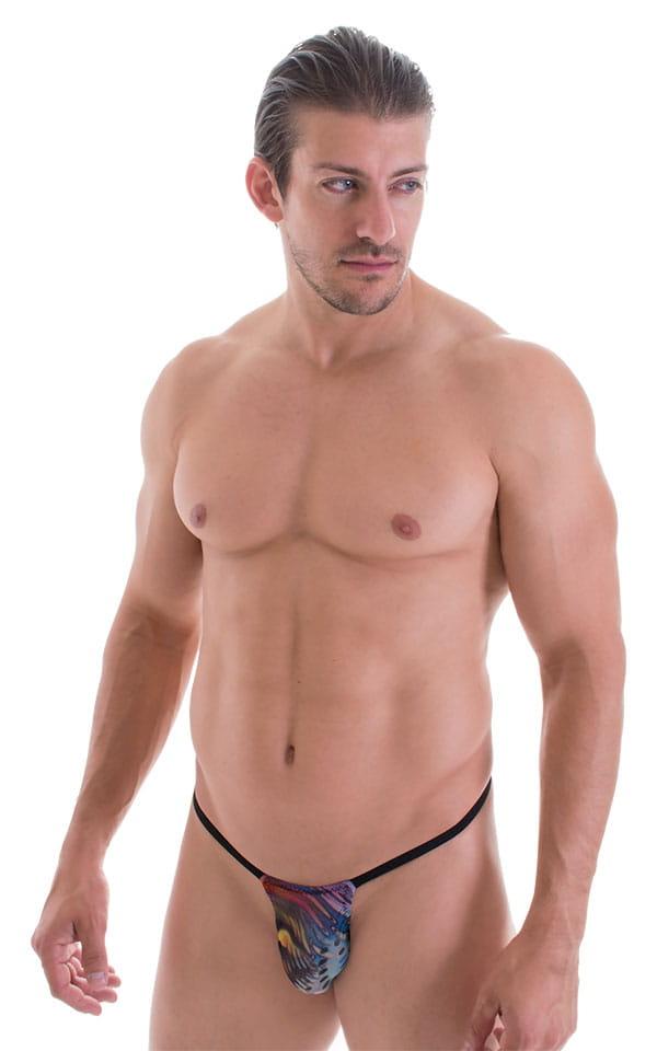 Mens and Womens Scrunchie Butt Swimwear