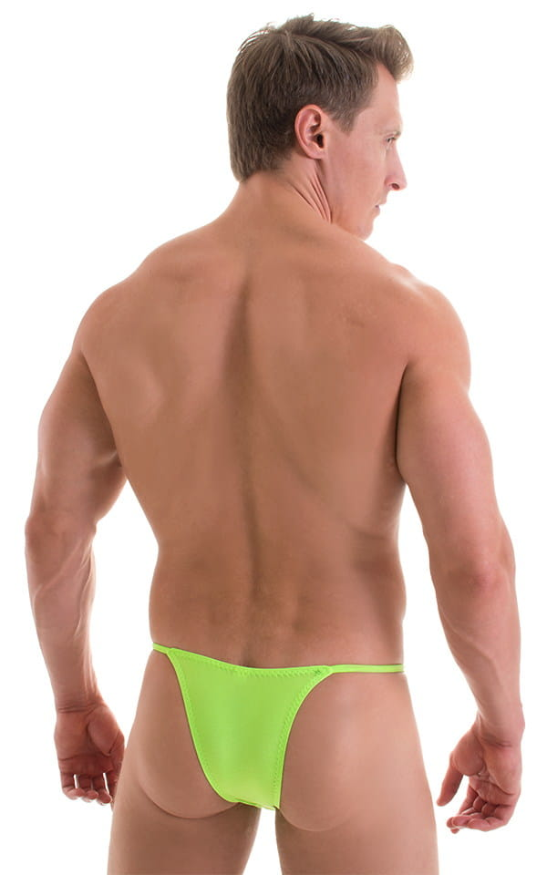 Sunseeker2 Tanning Swimsuit in ThinSKINZ Neon Lime 3
