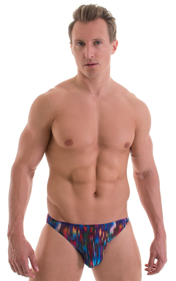 f8bd47fda3 Bikini Brief Swimsuit in Super ThinSKINZ Night Strata | Skinzwear.com