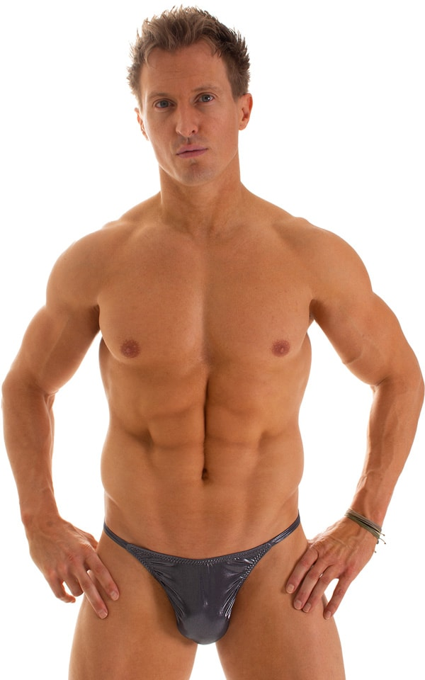 Sunseeker2 Tanning Swimsuit in Black Ice 1