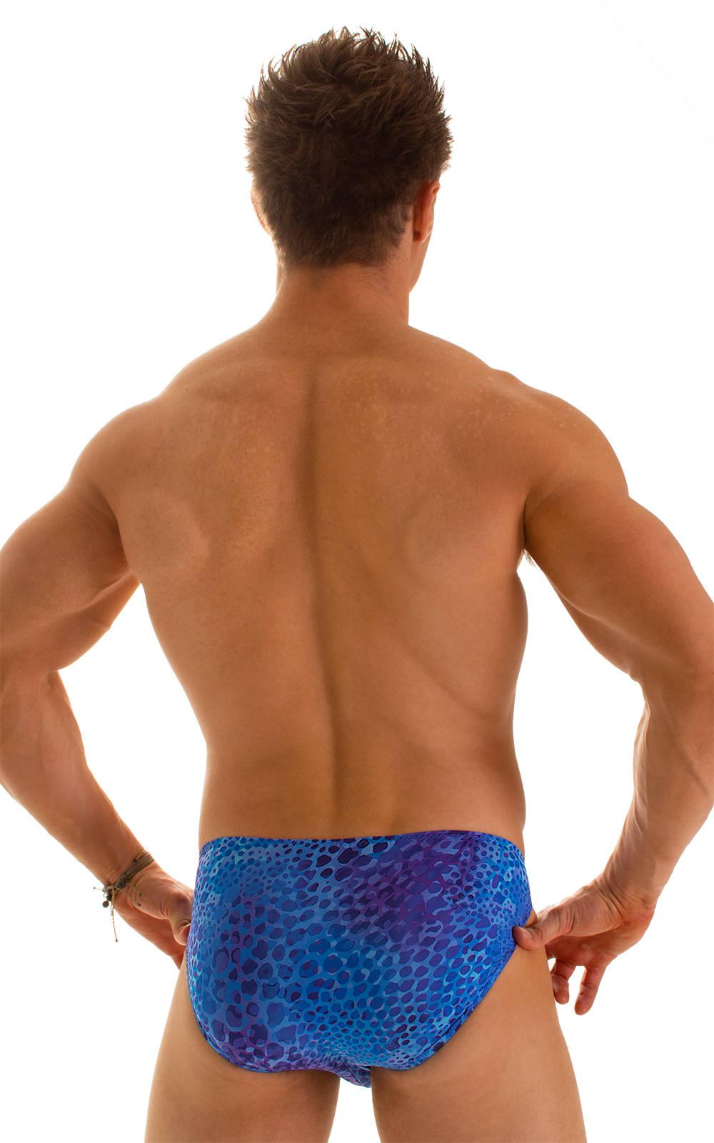 Bikini-Brief Swimsuit in Super ThinSKINZ Deep Sea 2