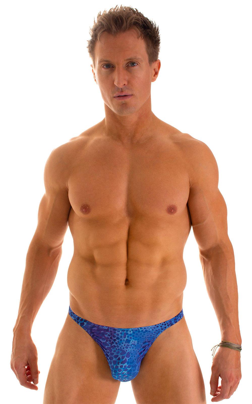 Smooth Front Bikini in Super ThinSkinz Deep Sea 1