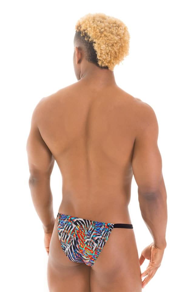 4-Way Adjustable Bikini-Tanga-Micro in Super ThinSKINZ Jumanji 2