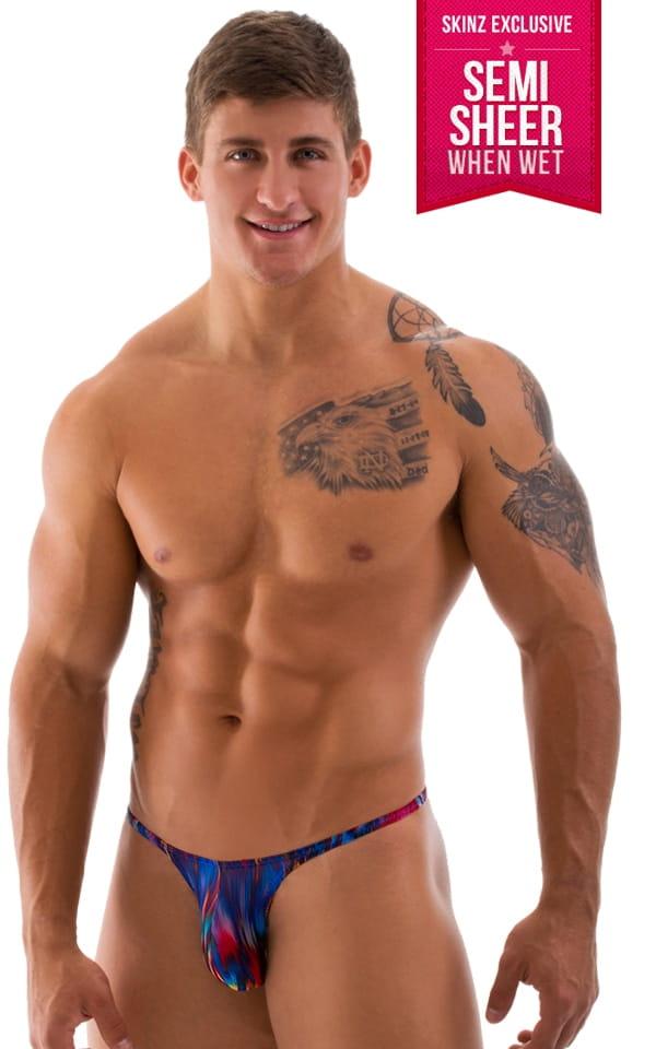 mens swimwear micro pouch scrunchie rio half back rio bikini swimsuit 25. Black Bedroom Furniture Sets. Home Design Ideas