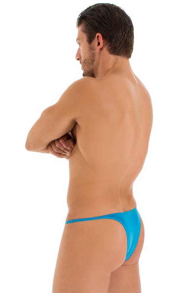 Sunseeker Micro Pouch Half Back Bikini in ThinSKINZ Sapphire 3