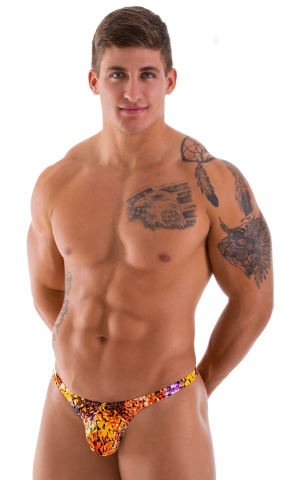 mens bikini with small back