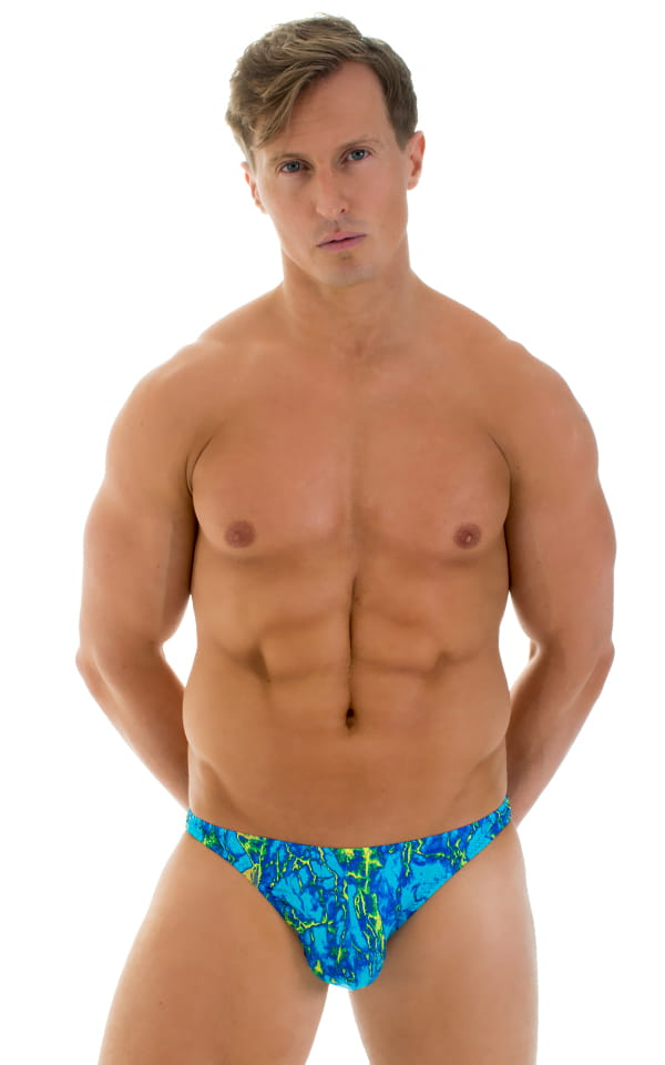 Enhancing Pouch Swim Brief in Super ThinSKINZ Infrared Cool 1