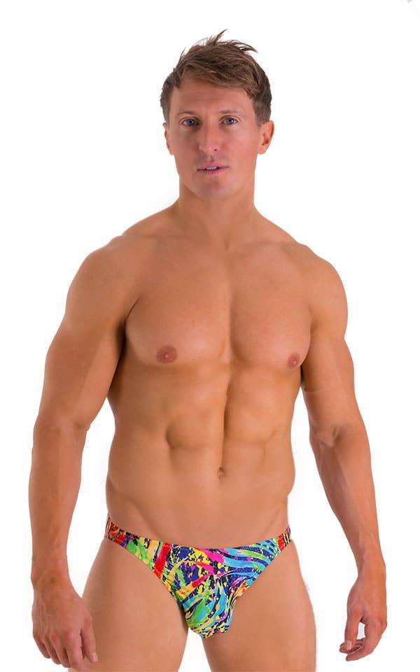 Bikini Brief Swimsuit in Super ThinSKINZ Festival 1
