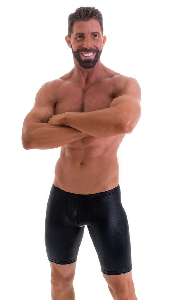 Lemja Men's Spandex Satin Bikini Briefs Pouch Brief Underwear Guys